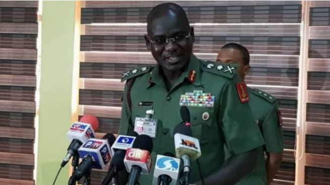 Lt. General TY Buratai Chief of Army Staff