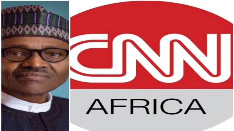 Muhammadu Buhari and CNN Africa
