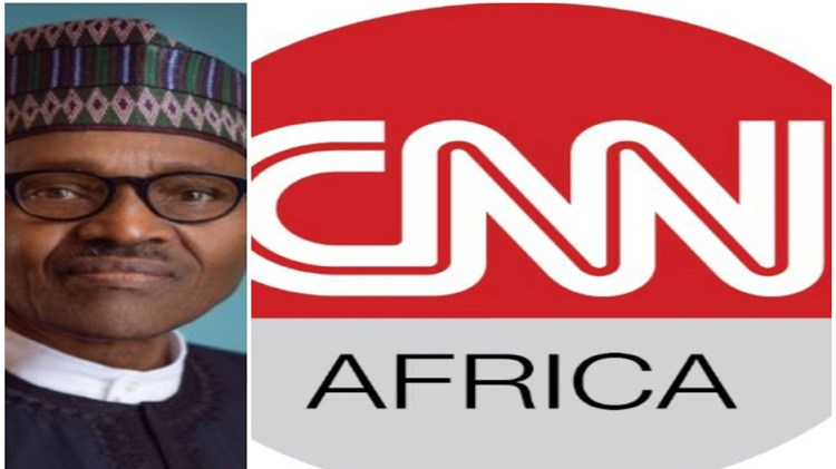 Muhammadu Buhari and CNN Africa