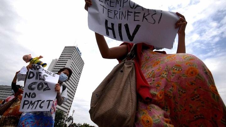 HIV AIDS awareness rally