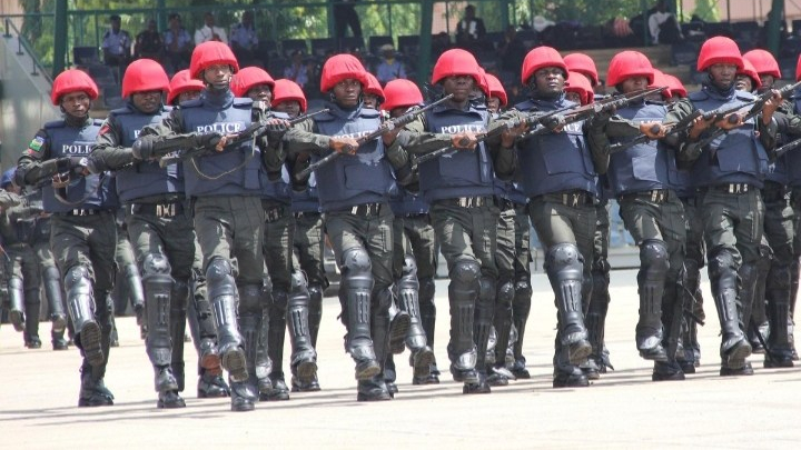 Personnel of the Nigeria Police Force