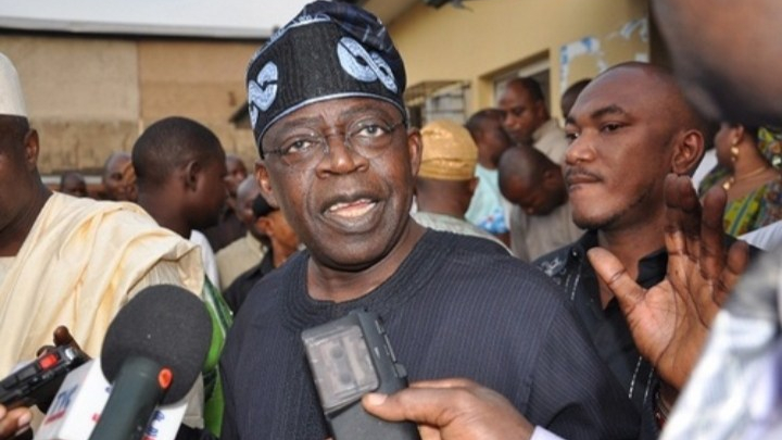 Bola Ahmed Tinubu APC National Leader at the centre of Bullion van controversies