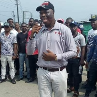 Graphic Photos: Gov Ifeanyi Okowa's Aide Lawrence Ojei murdered in cold blood