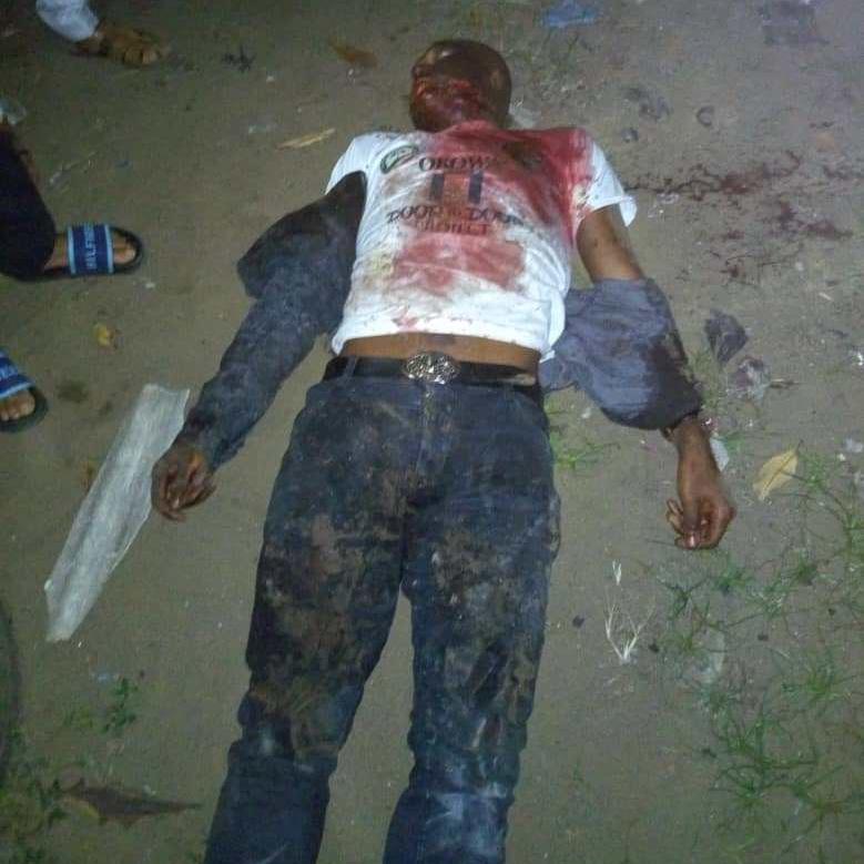 Lifeless body of Lawrence Ojei, Aide to Gov Okowa