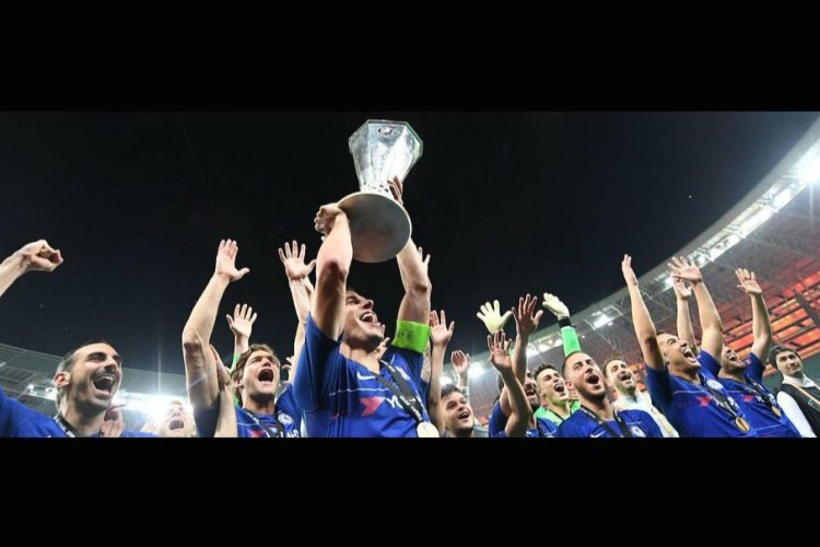 Chelsea FC Winners of UEL Finals 2019
