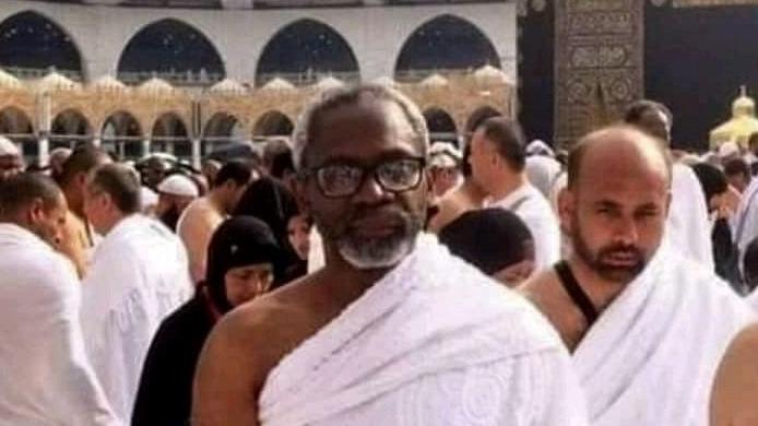 Femi Gbajabiamila in Mecca