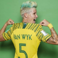 Bayana Bayana captain Janine Van Wyk thanks fans for their support after Women World Cup exit