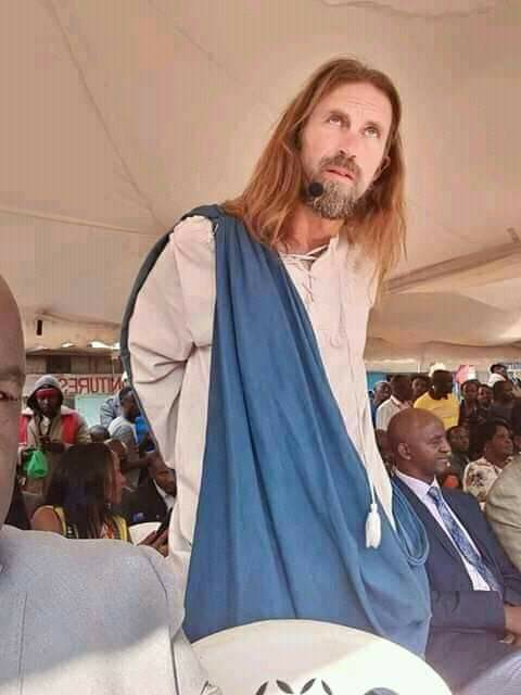 The Jesus invited by a pastor to preach in a Kenya church