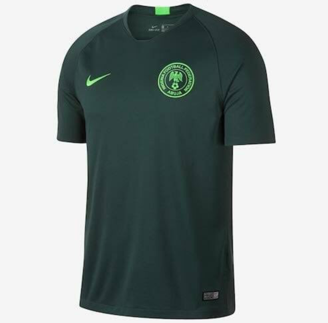 buy online 6c5d0 02440 Fans beg Super Eagles not to use the dark green 'badluck ...