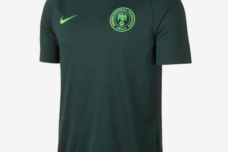 Dark green Super Eagles jersey