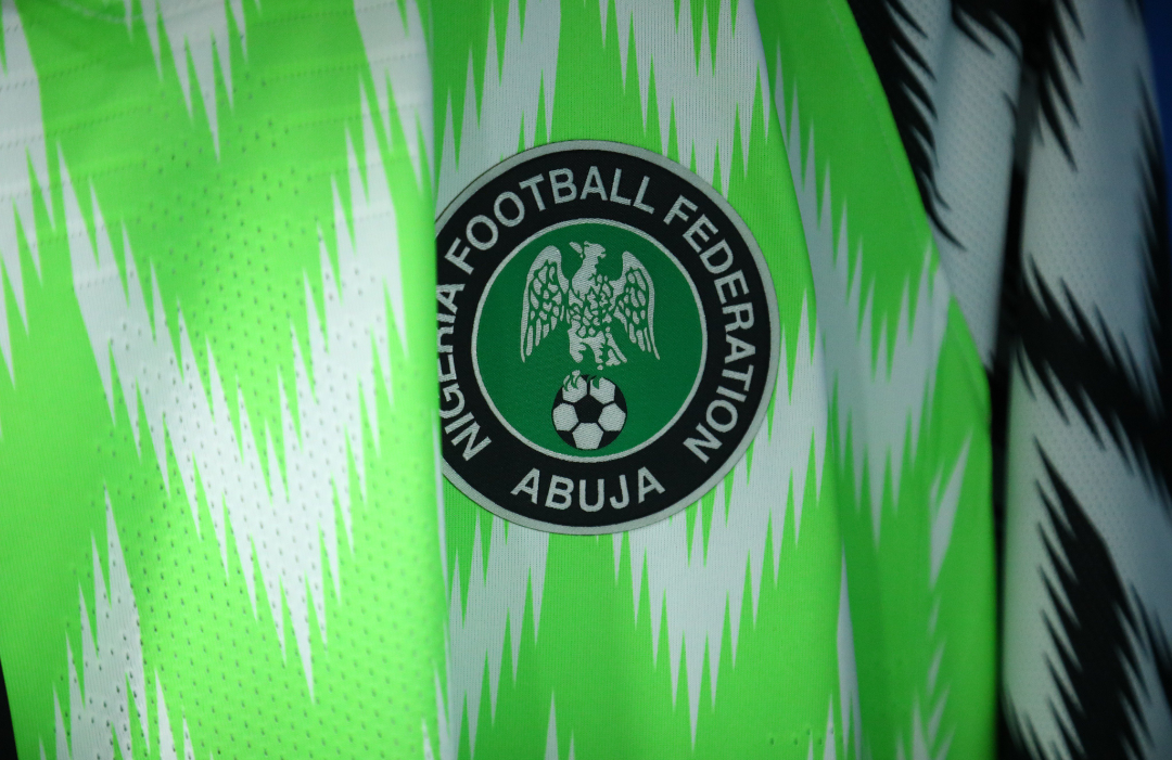 Nigeria Super Eagles bright Goodluck jersey