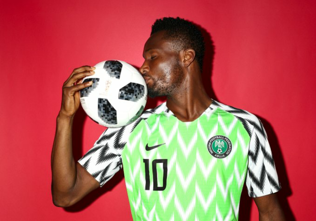 Nigeria Super Eagles player John Obi Mikel retires