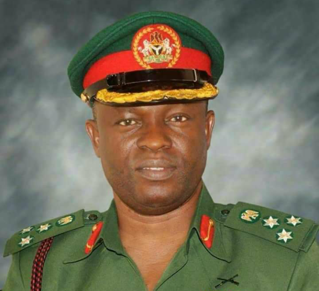 Major General Hakeem Otiki of the Nigerian Army