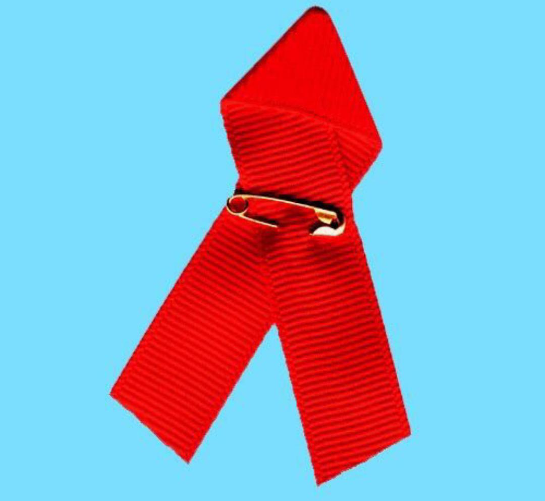 HIV AIDS symbol