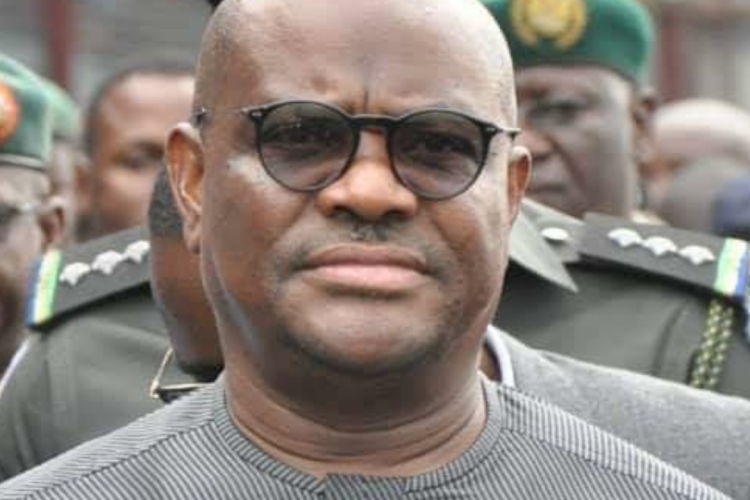 Governor Nyesom Wike of Rivers Nigeria