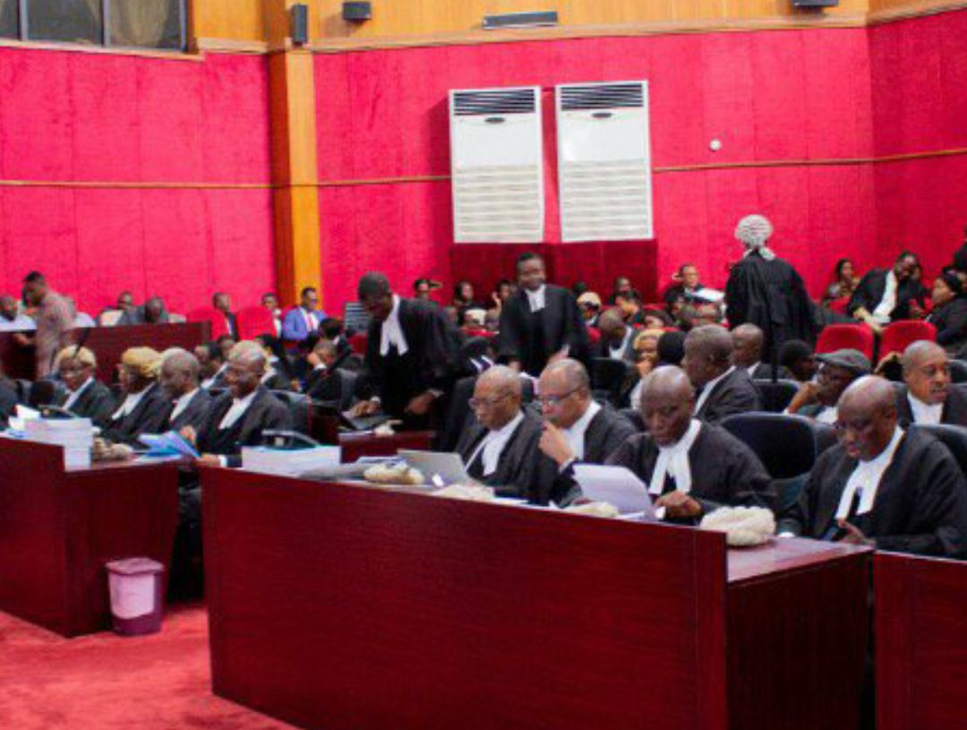 Nigeria Presidential Election Petition Tribunal in session