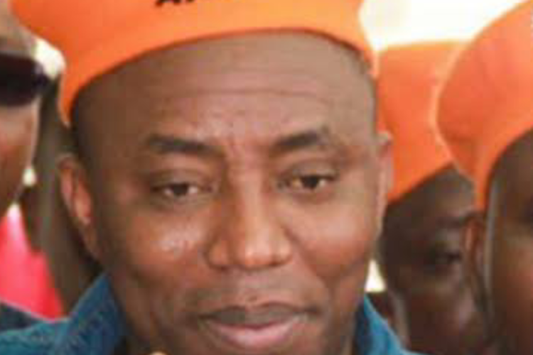 Revolution Now Convener and Africa Action Congress Presidential Candidate Omoyele Sowore