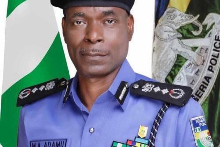 IGP Adamu of Nigeria Police Force