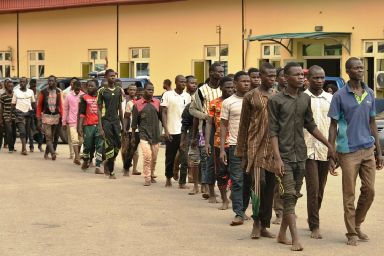 Northern Nigeria youths arrested in Lagos over suspicious movement into Lagos in a truck loaded with motorcycles