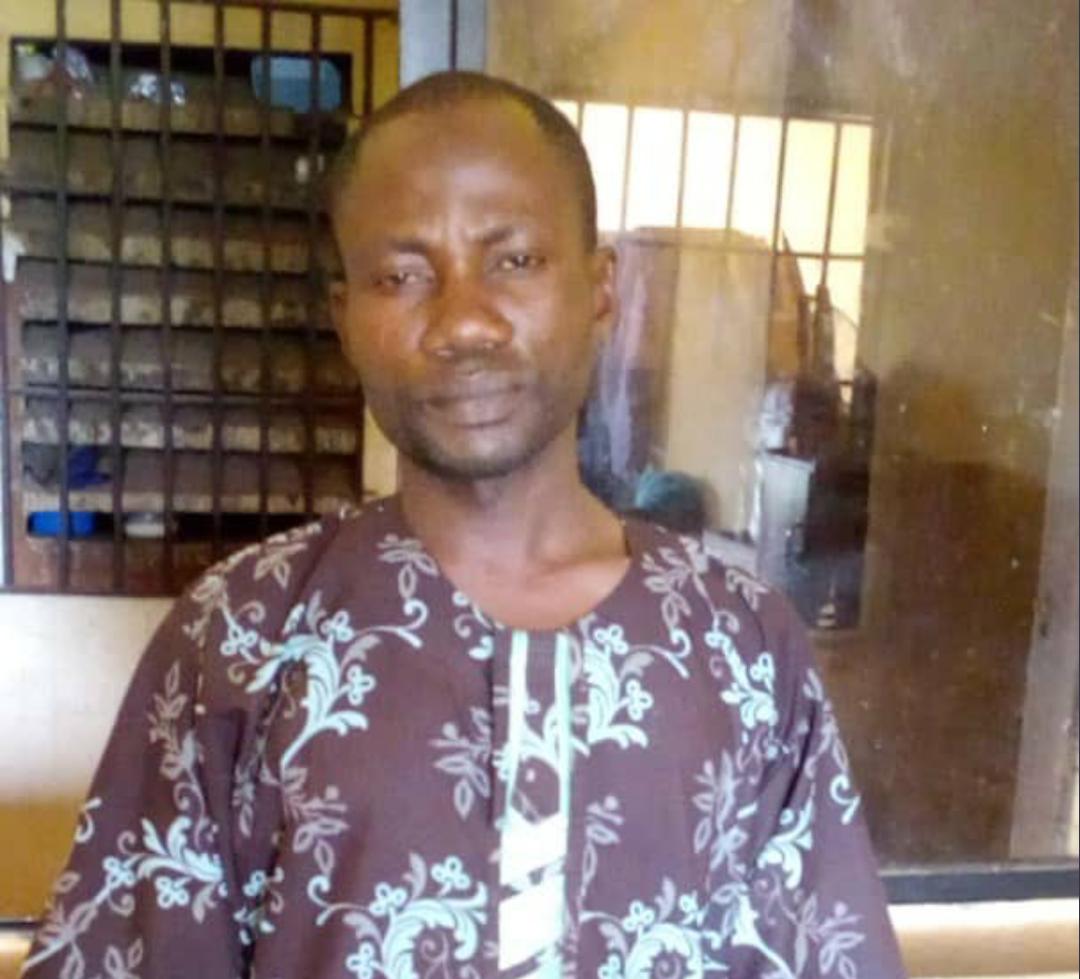 Kingsley Madukwe husband to the Late Glory Madukwe who died from being slapped by the husband