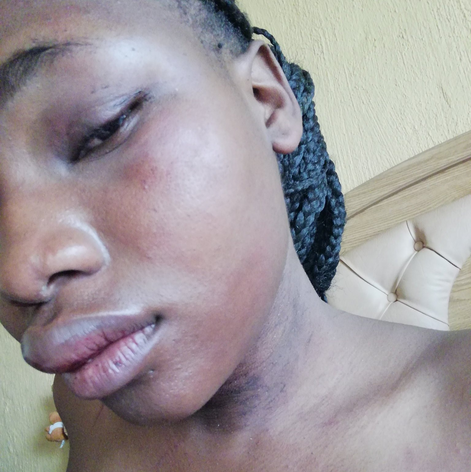 Happiness Nomathenda a South African girl raped by her neighbour